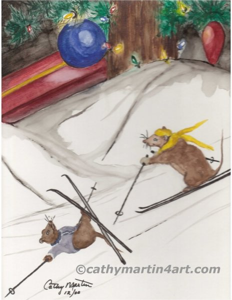 Skiing Mice webready