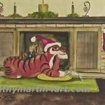 Santa Tiger