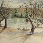 Winter's Past at Potter's Lake