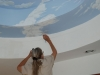 Ceiling Mural by Cathy Martin