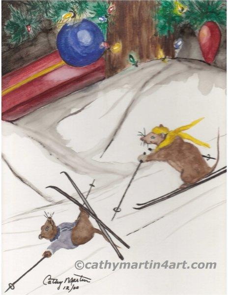 Skiing Mice webready