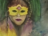 Mardi Gras Girl by Cathy Martin