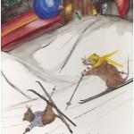 Skiing Mice